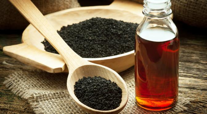 Crni kim ' prah i ulje