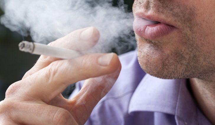 Pušenje cigarete