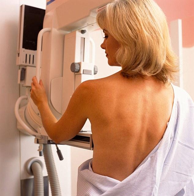 Žena sa rakom dojke