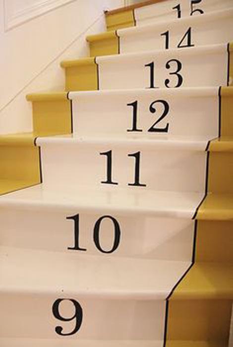 Stepenice sa brojevima
