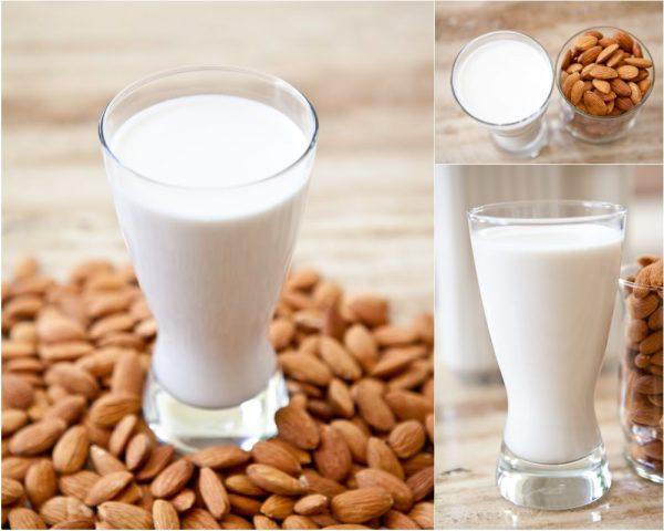 Bademovo mleko u čaši