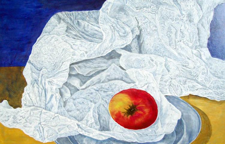 Jabuka na tanjiru