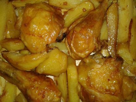 Krompir s piletinom
