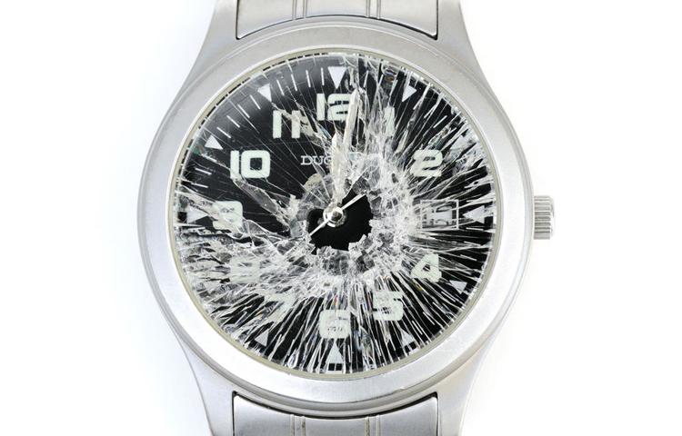 Slomljen-sat